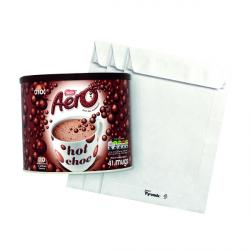 Cheap Stationery Supply of Tyvek C5 Envelope Pocket 229x162mm Wht (Pack of 100) FOC Hot Chocolate Office Statationery