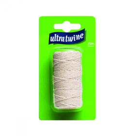 Ultratwine Cotton Twine Fine Hanging Pack (Pack of 12) PA0200CLMSPL