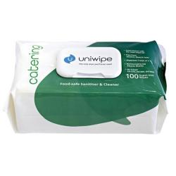 Cheap Stationery Supply of Uniwipe Catering Wipes (Pack of 100) 5700 Office Statationery