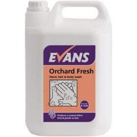 Evans Orchard Fresh Hand, Hair and Body Wash 5 Litre A153EEV2