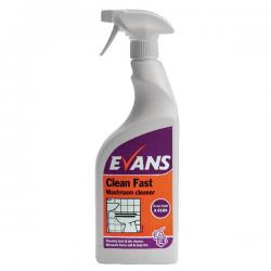 Cheap Stationery Supply of Evans Clean Fast Washroom Cleaner 750ml (Pack of 6) A010AEV Office Statationery