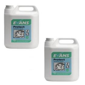 Evans Protect Disinfectant Cleaner 5 Litre (Pack of 2) A125EEV2