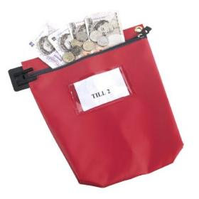 GoSecure High Security Mailing Pouch Red CCB1R