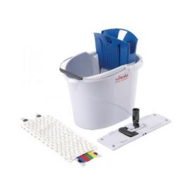 Vileda UltraSpeed Mini 10 Litre Starter Kit Blue 129672