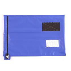 Cheap Stationery Supply of GoSecure Lightweight Security A3 Pouch Blue (Can be used with security seals, sold seperately) CVF3 Office Statationery