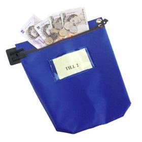 GoSecure High Security Mailing Pouch Blue CCB1