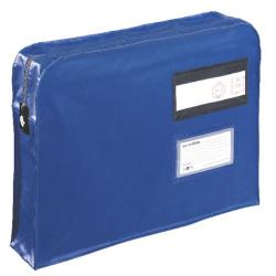 Cheap Stationery Supply of GoSecure Gusset Mailing Pouch 457x330x76mm Blue VFT3 Office Statationery