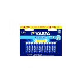 Varta AAA High Energy Battery Alkaline (Pack of 12) 4903121482