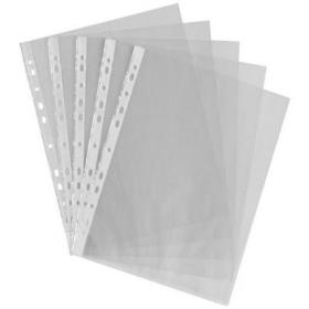 A4 Punched Pocket Clear 35 micron 270486 (Pack of 100) WX24001