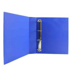 Cheap Stationery Supply of Blue 65mm 4D Presentation Ring Binder (Pack of 10) WX70298 Office Statationery