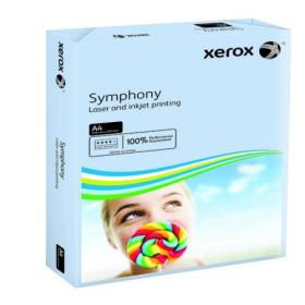 Xerox Symphony Pastel Tints Blue Ream A4 Paper 80gsm 003R93967 (Pack of 500) 003R93967