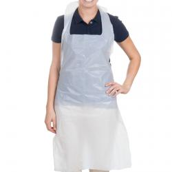 Cheap Stationery Supply of Disposable Aprons White Pack of 500 Office Statationery