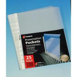 Cheap Stationery Supply of Rexel Top Opening Pocket 10x Packs of 25x Office Statationery