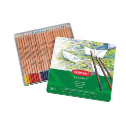 Cheap Stationery Supply of Derwent Academy Watercolour Tin Watersoluble Colour Pencils (24) - Outer carton of 3 Office Statationery