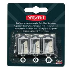 Cheap Stationery Supply of Derwent Battery Operated Twin Hole Sharpener Office Statationery