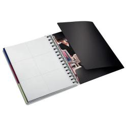 Cheap Stationery Supply of Leitz Executive Notebook Be Mobile A5 ruled, wirebound with PP cover - Outer carton of 6 Office Statationery