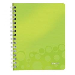 Cheap Stationery Supply of Leitz Green WOW Notebook A5 ruled wirebound with polypropylene cover Pack of 6x 46390064 Office Statationery