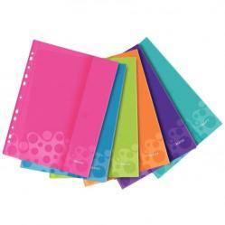 Cheap Stationery Supply of Leitz Assorted Colours WOW Punched Pocket with flap Pack of 30x 47070099 Office Statationery