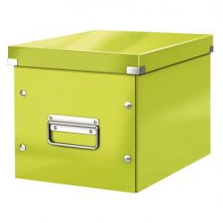 Cheap Stationery Supply of Leitz Green Box Click & Store Cube Medium Storage Box 61090064 Office Statationery