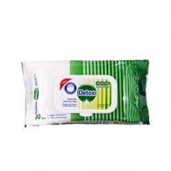 Cheap Stationery Supply of Detox Antibacterial Wipes Pine (Pack of 120) Detox 120 Pine Office Statationery