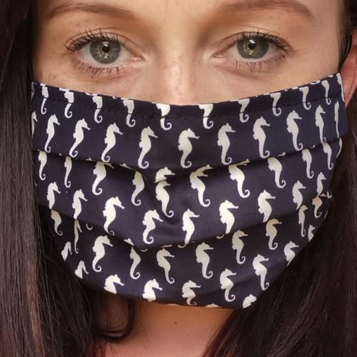 Seahorse Washable Face Mask
