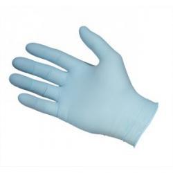 Cheap Stationery Supply of Nitrile Powder Free Soft Blue Gloves Medium Box of 200x Office Statationery